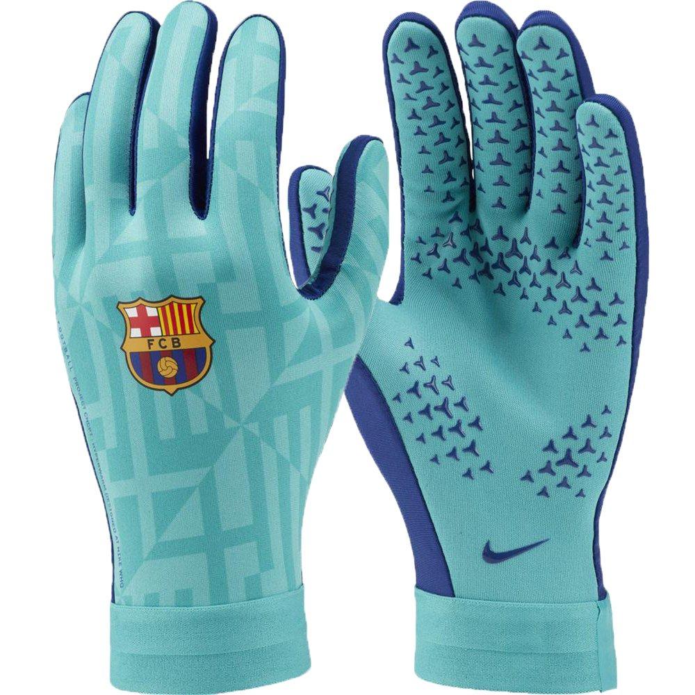 Nike FC Barcelona Academy HyperWarm Handschoenen Groen Blauw