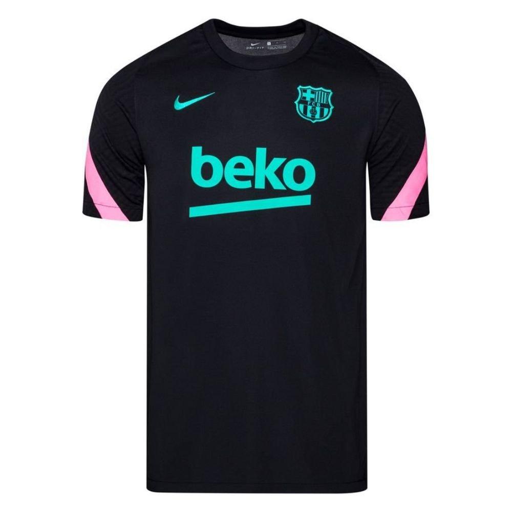 Nike FC Barcelona Dry Strike Trainingsshirt 2020-2021 Zwart