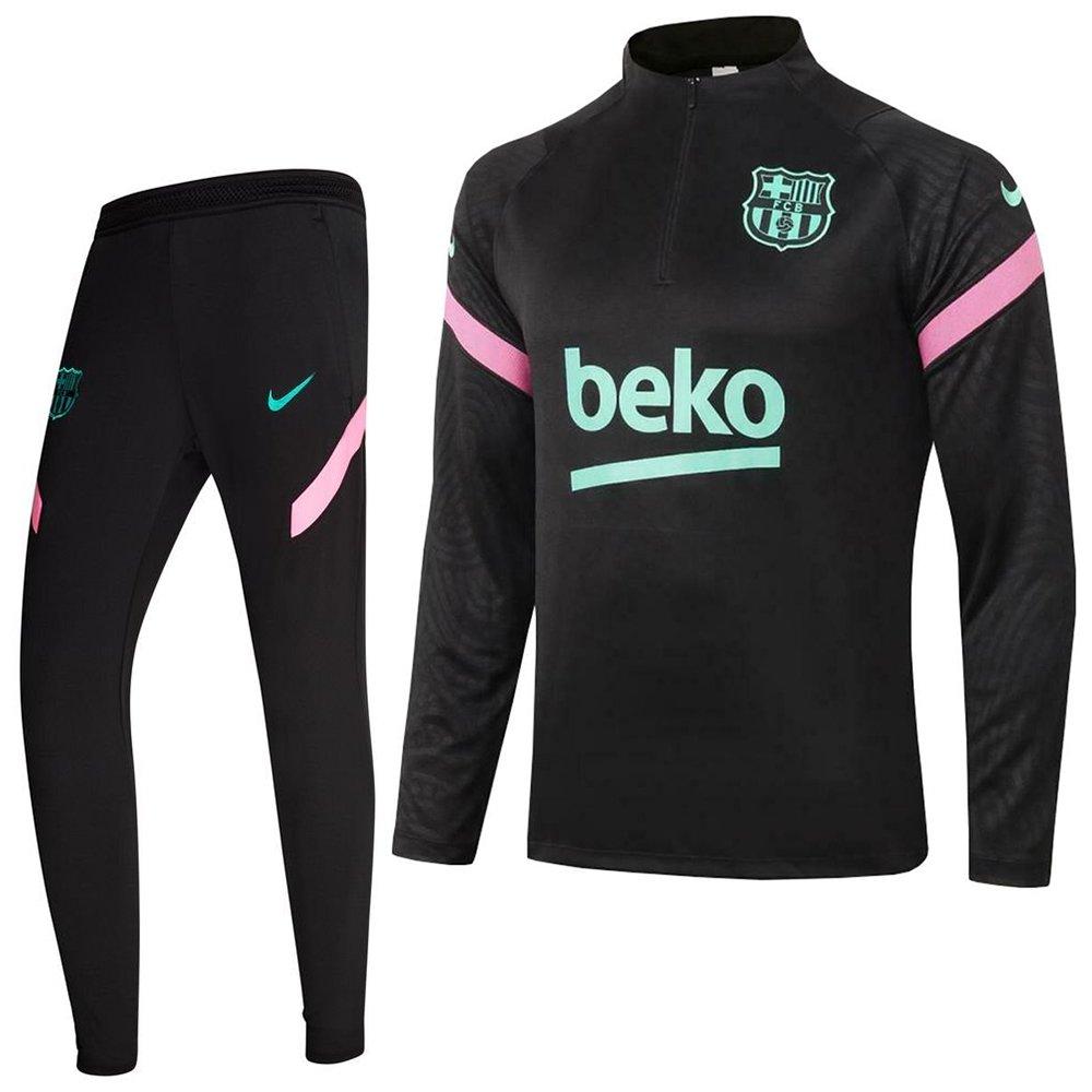 Nike FC Barcelona Strike Trainingspak CL 2020-2021 Zwart Roze