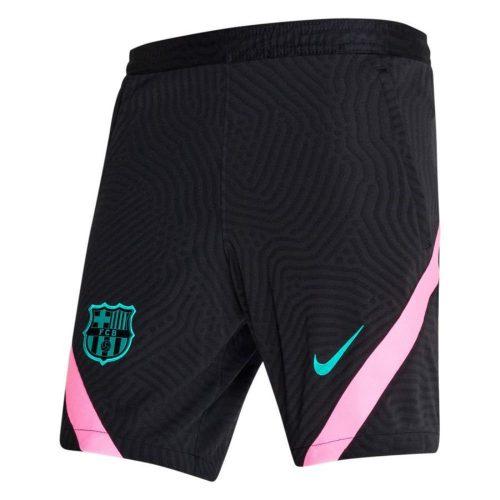 Nike FC Barcelona Dry Strike Trainingsbroekje KZ 2020-2021 Zwart