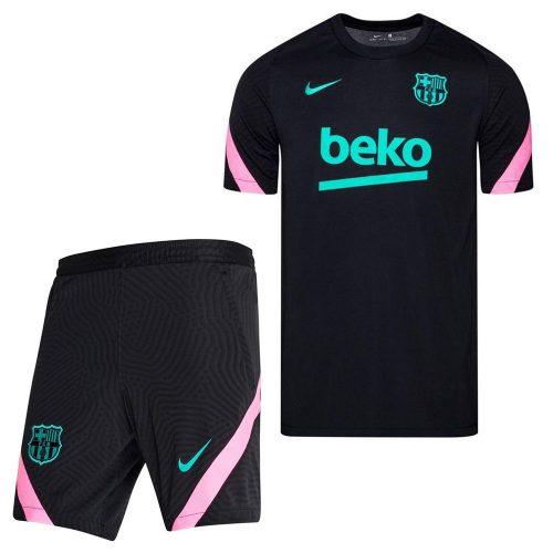 Nike FC Barcelona Strike Trainingsset 2020-2021 Zwart Roze